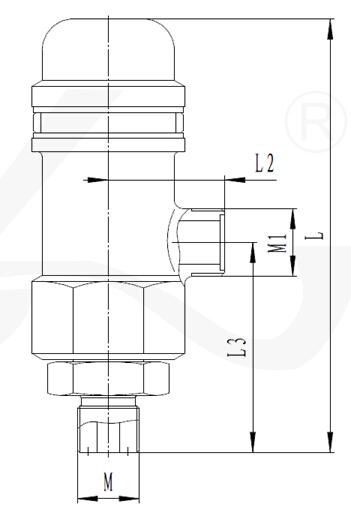 高压安全阀 428ky系列图片